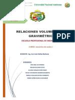 Informe _02 Relaciones Volumetricas y Gavimetricas