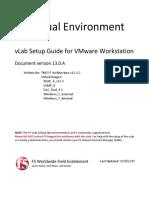VLab Setup Partners - VMware Workstation - V13.0.A