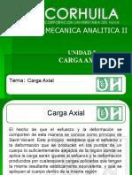 Unidad 5. Cargas Axial