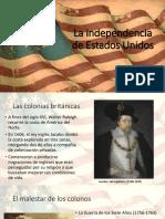 La Independencia de Estados Unidos (1)