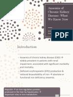 Journal Reading Presentation Anaemia of Chronic Kidney Disease