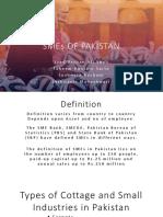 Smes of Pakistan