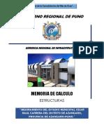 MEMORIA DE CALCULO ESTADIO CAMINACA
