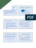 FIS1 Trabajo y Energía