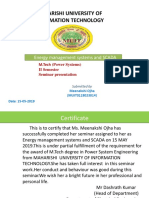 Energy management systems and SCADA