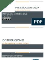 1.4 Distribuciones o Distros