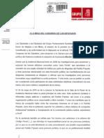 Moción de censura PSOE