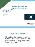 3A_N04I_El Planteamiento de Preguntas 2018-3 (Diapositivas)
