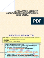 Curs 6 - Partea 2 - Inflamatie - AINS