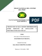 """""""PROTECCIÓN EN BAJA TENSIÓN DISCRIMINANDO ENTRE DEFECTOS DE INSTALACIÓN Y PERTURBACIONES ELÉCTRICAS"""""""
