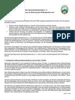 2019 02 06 Änderung WaffG Stellungnahme BSSB