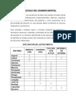 (4)Protocolo Del Examen Mental