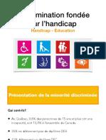 Discrimination Handicap