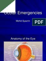 Ocular emerg