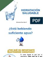Sesión Educativa Hidratación