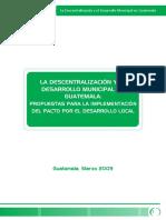 DescentralizacionDesarrolloMunicipalGuatemala