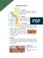 Resumen de La Cultura Inca-Peru