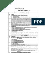 Checklist Manajemen Aktif Kala III