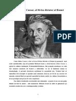 Caesar, al 84-lea dictator al Romei.docx
