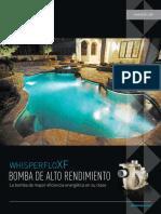 Motobomba Whisperflo Xf 3-5 Hp Trifasica y Monofasica 022010 022005 022031 022011