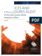 IAAO Audit Cook County Assessor