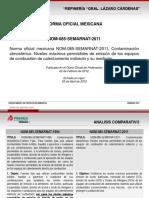 PresentaciónNOM 085 SEMARNAT 2011