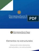 Presentación Elementos No Estructurales - Interacción Elementos