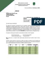 Carta Consorcio Juan Pablo