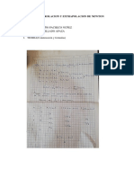 Interpolacion y Extrapolacion de Newton
