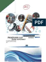 Buku Panduan Uji Kompetensi Honda