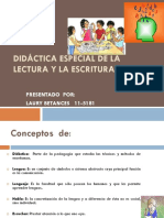 Laury - Didáctica Especial de La Lectura y La Escritura -Trabajo Final
