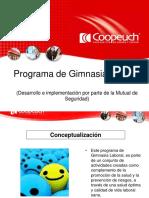 Programa Gimnasia Laboral