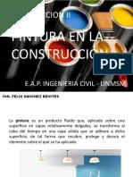 Clase 10x Construccion II - Pinturas 2018 i