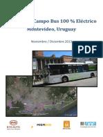 Informe Pruebas Bus Electrico Byd
