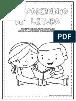Meu Caderninho de Leitura Sílabas Simples - Grupo Materiais Pedagógicos
