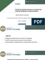 Apresentação do advogado Gilberto Martins de Almeida