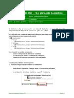 Nota Técnica. Comunicación HMI-PLC Protocolo SoMachine