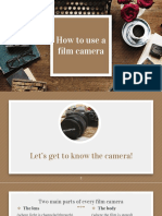 How to Use a Film Camera