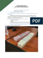 composite material testing report -konrad and neil