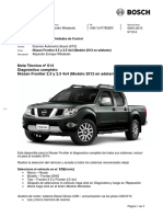Nota 14 Frontier Diesel