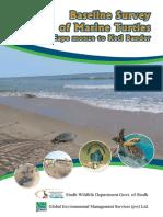 Marine Turtle Survey Along the Sindh Coast