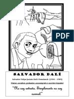 Salvador Dalí colorear