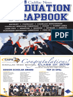 Cadillac News 2019 Graduation Scrapbook
