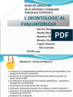 Lucrare de absolvire- Codul deontologic.ppt