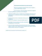 Elementos Para Iniciar Reflexión Para Propuesta de Investigación