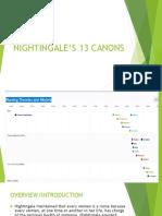 Nightingale's 13 canons