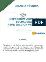 Inspección Visual de Soldaduras en Recipientes a Presión