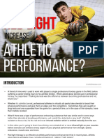 Red Light Therapy Increases Athletic Performance