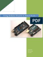 Using Arduino Boards in Atmel Studio 7