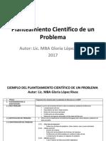 Planteamiento Científico de un Problema